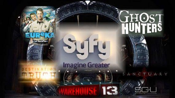 Syfy Channel Logo Eureka Sanctuary SGU Sci Fi to Syfy: Syfy Has Its Best Year Ever