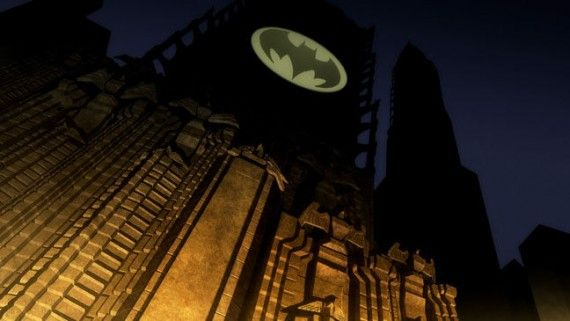 TDKR2 06329 a l 570x321 The Bat Signal in The Dark Knight Returns