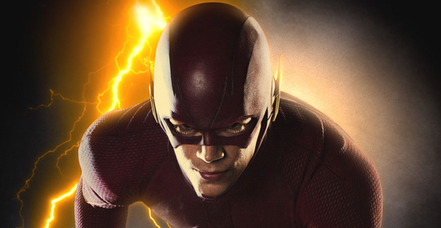 THE FLASH Full Suit Image Header Early Reactions to Gotham & The Flash; David Nutter Talks Directing Flash Pilot