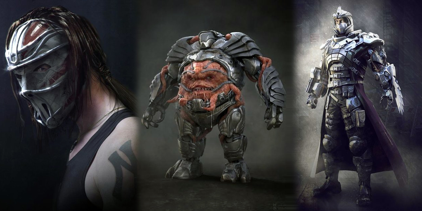 Teenage mutant ninja turtles concept art 2018