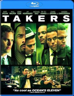 Takers DVD Blu ray box art DVD/Blu ray Breakdown: January 18, 2011