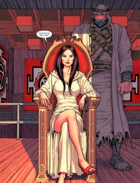 Talia Al Ghul in Batman Incorporated
