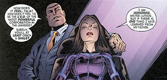Talia Head al Ghul and Lex Luthor Batman vs. Superman: Theories on What the Rumored Female Role Might Be