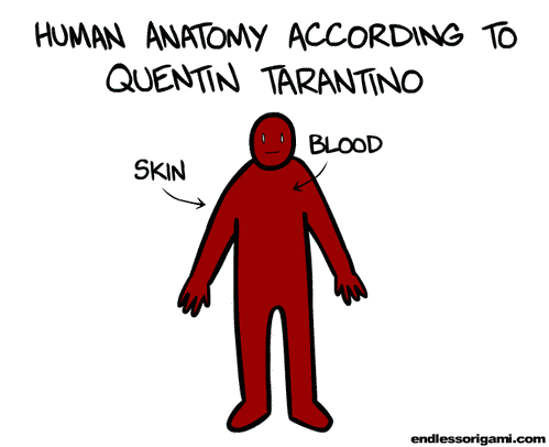 Tarantino Anatomy SR Geek Picks: Hunger Games Press Conference, Awesome Inception and Django Posters & More