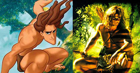 Tarzan animated and live action New 3D Animated Tarzan Movie In the Works