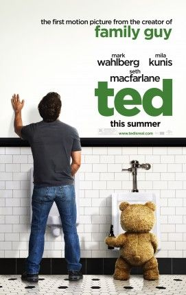 Ted movie poster 2012 271x430 Ted Trailer & Images: Basically Family Guy with a Teddy Bear