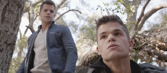 Teen Wolf Aiden and Ethan in Insatiable Teen Wolf: A Diversionary Tactic