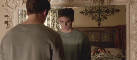 Teen Wolf Isaac in mirror Teen Wolf: Whats that Buzzing Sound?