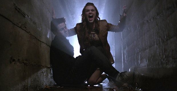 Teen Wolf Stiles and Lydia in Insatiable Teen Wolf: A Diversionary Tactic