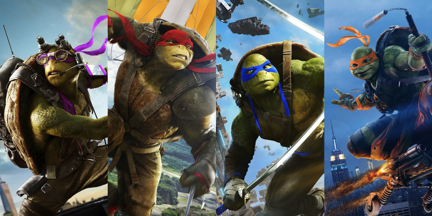 Teenage Mutant Ninja Turtles 2 Gets A New Poster & Character One-Sheets
