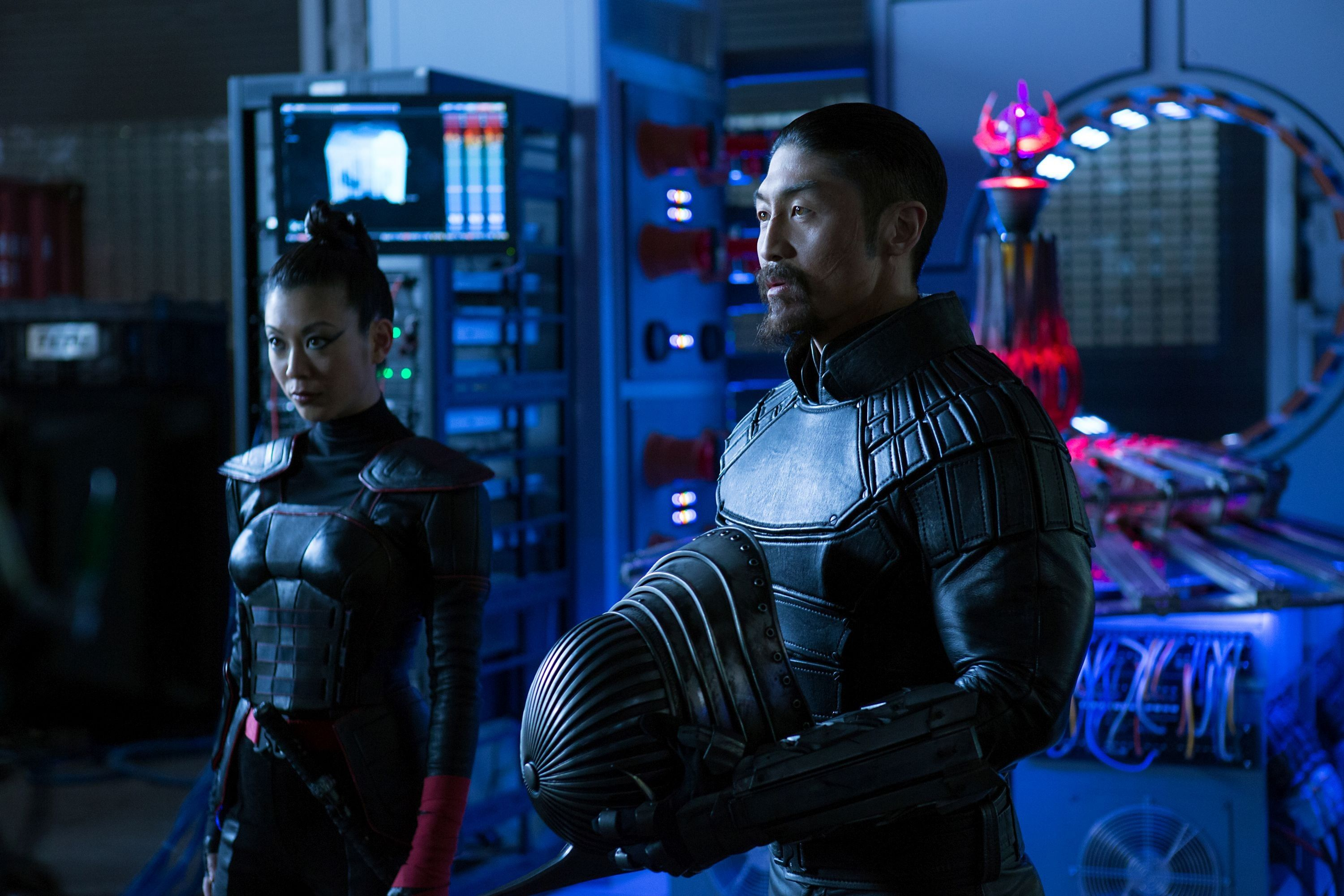 Actor Brian Tee Unveils The New Shredder Costume From 'Teenage ...