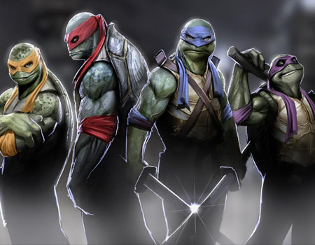 Teenage Mutant Ninja Turtles Michaelangelo Raphael Leonardo Donatello The Riskiest Box Office Bets of 2014