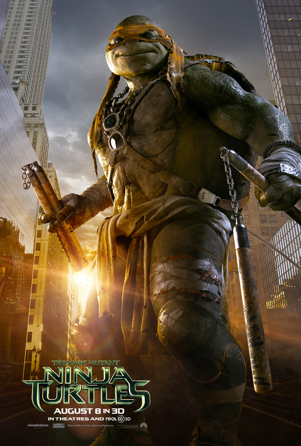 'Teenage Mutant Ninja Turtles' Trailer #2: Heroes in a ...