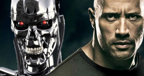 Terminator 5 The Rock Rumor Rumor Patrol: Dwayne The Rock Johnson Could Star in Terminator 5