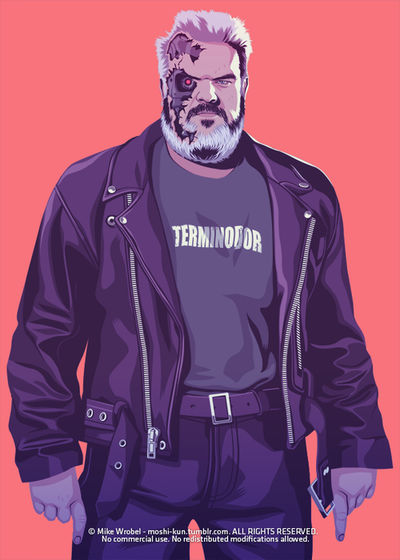 Terminator Hodor SR Geek Picks: Most Quotable Movies, Game of Thrones 80s/90s Version & More