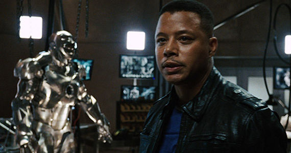 Terrence Howard as Rhodey