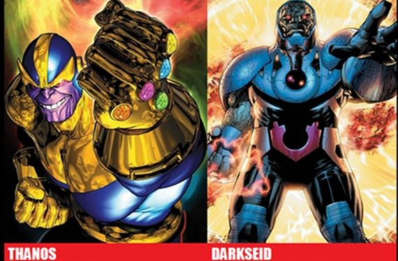 Thanos Avengers 2 Darkseid Justice League Movie Rumored Justice League Character Roster Addresses Continuity Issues