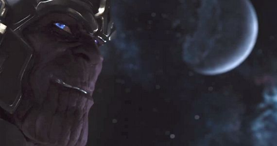 Thanos in The Avengers  The Avengers Post Credits Scenes Explained