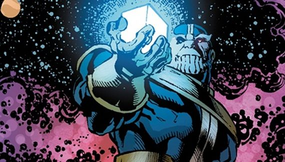 Thanos with Cosmic Cube Thor 2 Set Interview: Tom Hiddleston Laughs About Loki