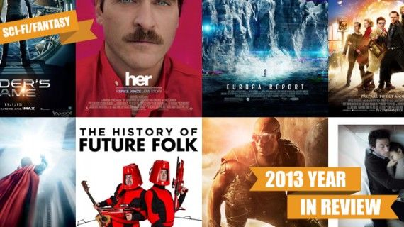 The 13 Best Sci Fi and Fantasy Films of 2013 570x320 SR Geek Picks: Batman vs. Spider Man MMA Match, If Marty McFly Had Instagram & More
