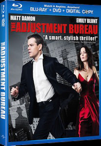 The Adjustment Bureau DVD Blu ray DVD/Blu ray Breakdown: June 21, 2011