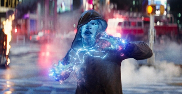 The Amazing Spider Man 2 Electro Times Square Sequence Amazing Spider Man 2 Footage Review: Time to Raise Your Expectations