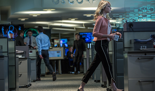 The Amazing Spider Man 2 Gwen Stacy at Oscorp New Amazing Spider Man 2 Images & Eco Friendly Featurette