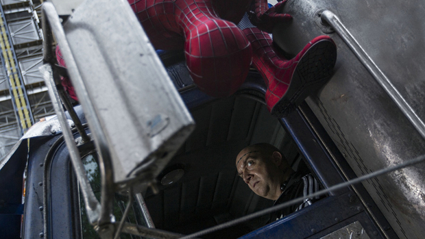 The Amazing Spider Man 2 Truck Heist Sequence Amazing Spider Man 2 Footage Review: Time to Raise Your Expectations