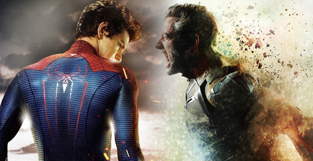 The Amazing Spider Man 2 X Men Days of Future Past X Men: Days of Future Past Box Office Forecast and Character Art