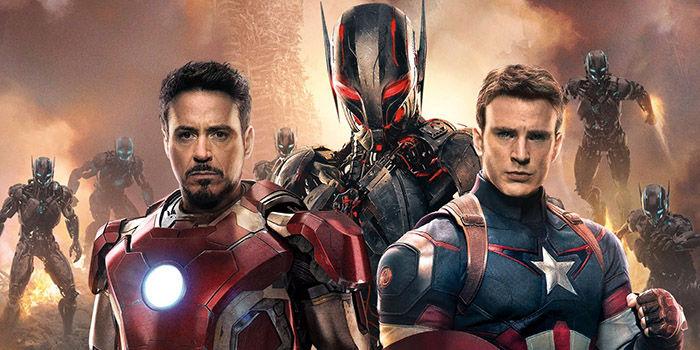 The Avengers 2 Age of Ultron Official Magazine Cover Leaked Avengers 2 Stills Showcase Ultron & Hulkbuster Armor