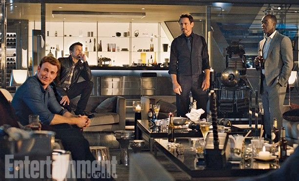 The Avengers 2 Age of Ultron Photo EW Stark Tower 612x370 First Official Avengers 2 Photos Include Don Cheadle and New Costumes