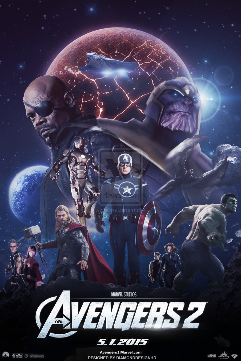 The Avengers 2 (FAN-MADE) Poster
