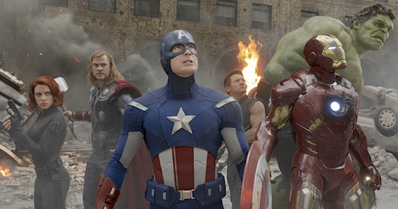 The Avengers 360 Shot Post Conversion 3D