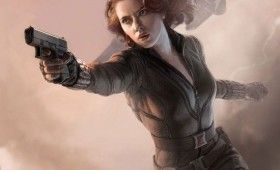 The Avengers Black Widow Character Poster 280x170 The Avengers Character Posters Debut