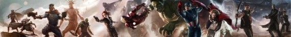 The Avengers Guardians of the Galaxy Concept Art Posters Combined 570x73 Guardians of the Galaxy Sequel Coming in 2016?