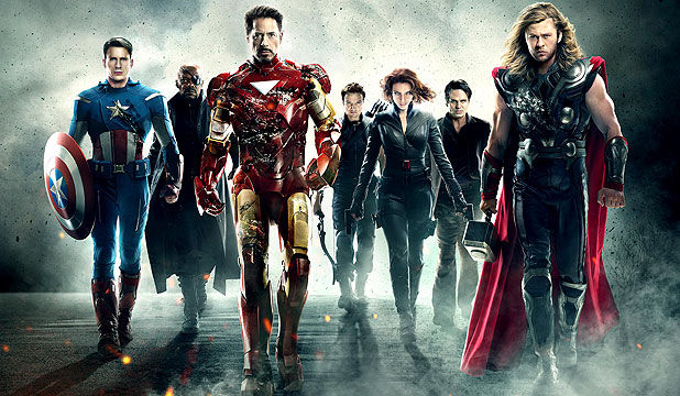 The Avengers Movie 1 Team Pose Captain America 2 Writers Talk Characters & Hint At R Rated Marvel Project