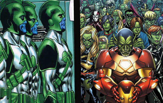 The Avengers Movie Kree vs. Skrulls The Avengers: New Kree/Skrull Rumors Surface