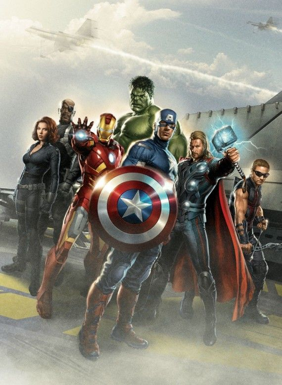 The Avengers Movie Roster 570x777 The Avengers Movie Roster