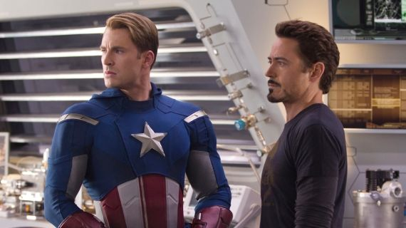 The Avengers Rogers and Stark Kevin Feige Calls Captain America 2 a Political Thriller