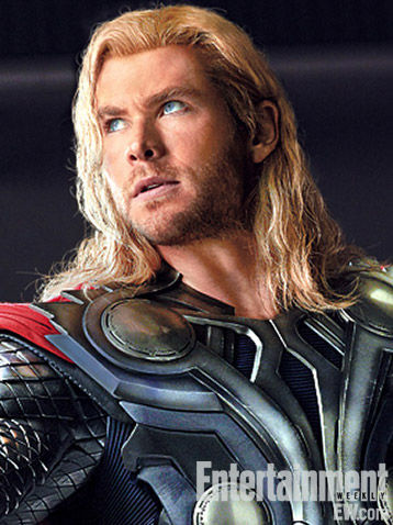 The Avengers Thor Headshot The Avengers Thor Headshot