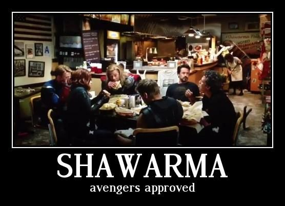 The Avengers shawarma The Avengers Post Credits Scenes Explained