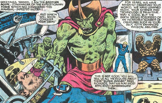 The Badoon Aliens in The Avengers The Avengers Aliens    A List of (Un)usual Suspects