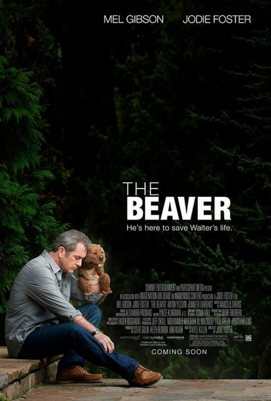 The Beaver movie poster Movie Poster Roundup: Cowboys & Aliens, Black Swan, And More