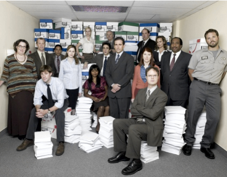 The Cast of The Office NBC