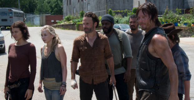 The Cast of The Walking Dead Season 4 Episode 8 The Walking Dead Season 4 Mid Season Finale Review