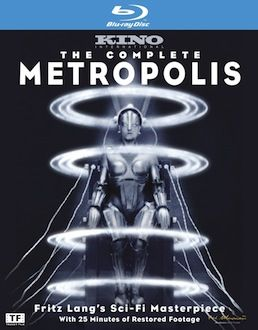 The Complete Metropolis Blu-ray