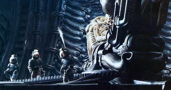 The Crew In Alien Meet the Space Jockey Damon Lindelof Reveals Prometheus Plot Details