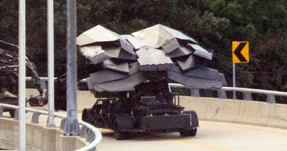 The Dark Knight Rises Batwing Dark Knight Rises Set Photo Reveals What Might Be The Batwing
