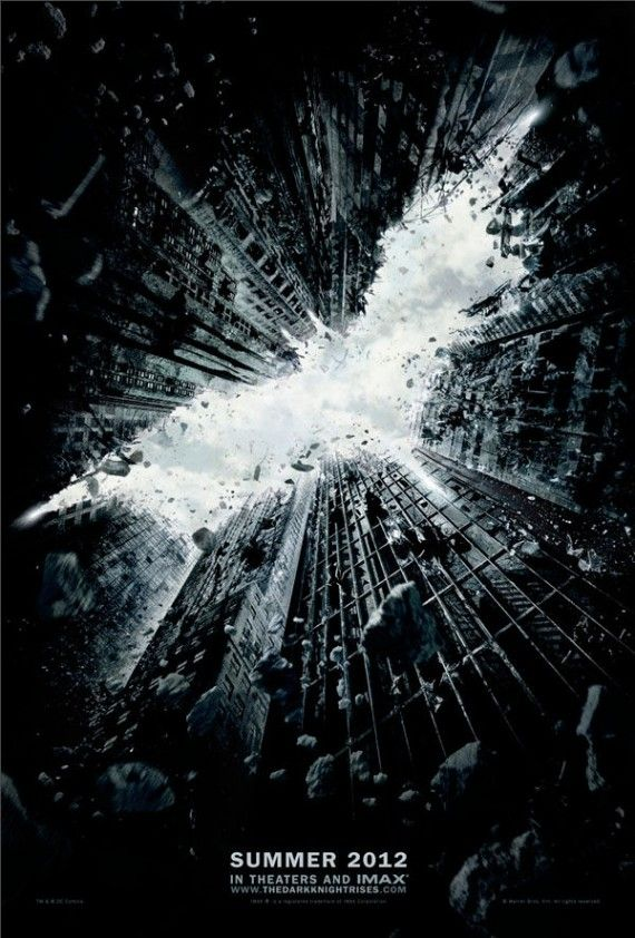The Dark Knight Rises Poster 570x842 The Dark Knight Rises Poster