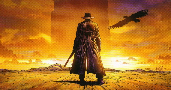 The Dark Tower comic book cover Ron Howard Says Dark Tower Has Never Gone Away